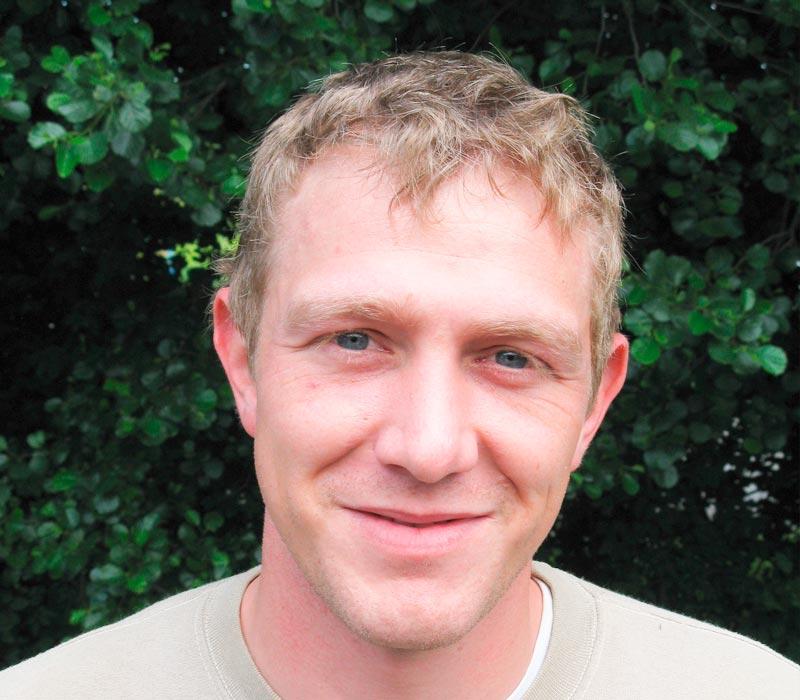 Dirk Hanser, im Team seit 1998